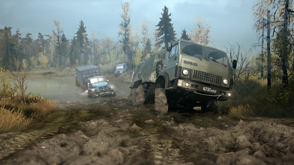 Spintires Mud Runners