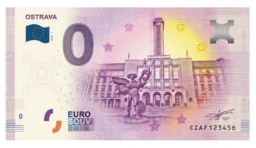 Ostrava 0 eur bankovka